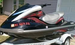 """FOR SALE JUST IN TIME FOR THE HOLIDAY WEEKEND IS A VERY NICE 2007 YAMAHA FXHO. SKI HAS FRESH SERVICE WITH PLUGS AND OIL CHANGE GOOD FOR 100 HOURS OF USE. SKI COSMETICALLY IS VERY GOOD WITH LIGHT """"USAGE"""" SCRATCHES ABOVE RUBRAIL. HULL IS VERY CLEAN. SKI WAS"""