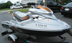 **2008 SEA-DOO RXT 255 JET SKI w/trailer **EXCELLENT CONDITION**ONLY 42 HoursThe jetski runs great. (two keys) I have never had any problems with it.Oil changed and maintenanced regularly (i have all my records)Very clean and kept in a garage covered.,,..