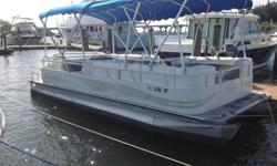 very clean 22ft Bently pontoon cruiser. This boat is powered with a 60 hp mercury 4 stroke with low hours and all service records. She has just been completely serviced and everything works as it should..The boat comes with a brand new double bimini as