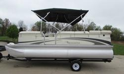 *** INTERIOR: THIS IS A VERY CLEAN BOAT INSIDE SEATS ARE ALL IN NICE SHAPE FREE OF ANY DAMAGES! CARPET IS FREE OF ANY RIPS TARES! THIS PONTOON HAS LOTS OF STORAGE FOR ALL YOUR LIFE JACKETS AND GEAR YOU MIGHT NEED TO TAKE ALONG! THIS BOAT NEEDS NOTHING!***