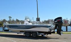 You are viewing a Pristine Condition, Super Clean, One Owner 2008 Blue Wave Pure Bay 2400. She is 24.5 feet overall and powered by the Suzuki® 300Hp 4 stroke V6 already conditioned with engine corrosion guard recommended by certified Suzuki technician at