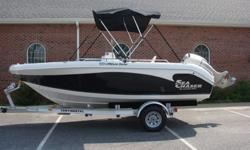 2008 CAROLINA SKIFF SEA CHASER FISHING BOAT. IT IS A 1900 SERIES, 19FT BOAT. IT IS IN EXCELLENT CONDITON. ALL OF THE WHITE AND BLACK GELCOAT SHINES LIKE NEW. THE MOTOR IS A 150 HONDA FOUR CYLINDER FOUR STROKE. IT HAS A STAINLESS STEEL MERCURY LAZER II 3