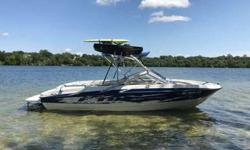 For Sale is a clean 19.5 foot Bayliner F19 with a low 240 hours. This is a special edition Bayliner 195 Flight Package with the 4.3 Mercruiser V6 engine. Perfect boat to fill with people and have fun pulling people for watersports. Lots of storage under