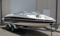 This boat will guarantee a few double takes from its onlookers. Her low, and sleek design really sets her apart from other boats her size. It is a spacious boat that can seat up to 10 people!!! The GXL 205 is made to handle big waves with ease, thanks to