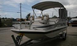 One very clean boat! This is a great deal on a repo! Only 91 hours! 2008 Hurricane 196 REF, 150 HP Yamaha, This boat is great for cruising, fishing, or skiing! Large live well, Changing station, CD Player with mp3 input, Sirius satellite system, aluminum