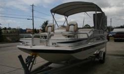 One very clean boat! Only 91 hours! 2008 Hurricane 196 REF, 150 HP Yamaha, This boat is great for cruising, fishing, or skiing! Large live well, Changing station, CD Player with mp3 input, Sirius satellite system, aluminum trailer, trolling motor outlet,