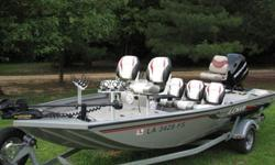 2008 Lowe Stinger 175 with trailer.Mercury Optimax 75 motorLowrance HDS-7 with structure scanMinn Kota i-pilot wireless GPS trolling system (with foot pedal)3 Tite Lok crappie rigs - 4 pole Boss mp3 radio (can't get to work)3 pedestal chairs2 aerators and