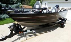 "2008 Shorlandr Bunk Trailer with Swing Tongue, Transom Saver, 3 Like New Tires, Buddy .Bearings, 2"" Ball, 4 pin plug.2014 Minn Kota Terrova 80 Lb Wireless Gps Trolling System With Foot Pedal and Remote - 24 Volt.3 New Marine Deep Cycle Batteries.Bass Pro"