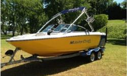 2008 MasterCraft X-15. Perfect condition. Always stored indoors. Went from factory shrink wrap to indoor 'high and dry' marina. 190 hrs on MCX 350 HP Indmar inboard engine. Video and standard instrumentation, perfect pass, premium sound with iPod