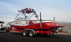 This 2008 MasterCraft X45 is looking for a new home. This X45 is loaded with almost every option that was available and then some. 10 JL subs, 6 tower speakers, transom stereo controller, sirus radio, 7 JL amps, power inverter with 110 outlets, 4