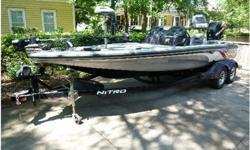 This center console 4-seater has wide beam for lots of room to fish. Get there before everyone else with the Mercury 250 horse power direct injection outboard that runs like a dream! Lots of new electronics. Features:250HP Mercury Optimax Pro-XS direct