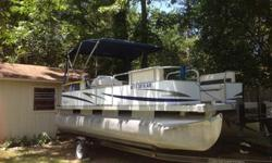 2008 Palm Beach 2023 SPORT CRUISE SE20 Ft. Palm Beach 2023 Sport Cruise SE. Complete Cruise/ Fish/ Tubing ready boat with tons of extras. Comes with everything you need to hit the Lake today! Whether you?re cruising, tubing, or fishing this pontoon is