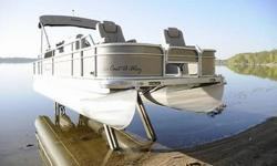 You are looking at a show room quality 2008 Premier Pontoon! Its 23 feet of pure enjoyment. Has a very powerful, very quiet 115 hp. Evinrude E-Tec engine with plenty of power to pull skiers, tubes, wake boarders, etc, etc....Here is a small list of