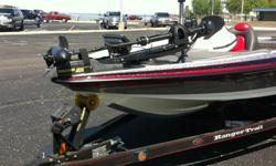 """2008 Ranger Z-20.Mercury Opti-Max 225 HP (96 hours).Mercury Smart Gauge.10"""" adjustable Jack Plate.Hot Foot and toggle trim.Matching Ranger Trail duel axle trailer.Minn Kota 80 Maxxum 24 volt trolling motor.Lowrance HDS 8 at the console.Lowrance HDS 7 at"""