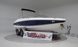 "this is a ""High End"" Regal boat! Super nice quality! Fast-trac hull design for great performance. Even have the nice walk through entrance. super clean boat!! Comes with warranty, ask about FREE delivery!We have the largest selection of very clean used"