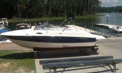 2008 Regal 2400 w/5.7GI Volvo & aluminum trailer. Boat is in great condition and stored at Lighthouse Marina. Options include: dual batteries, head, stereo w/ CD player, depth finder and bow & cockpit covers. Please call Craig or Jason at 803-749-XXXX.