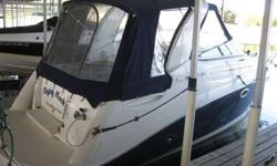 2008 Rinker 260 Express Cruiser - CALL NOW (972)921-0031 *** SLEEPS 4 - GENERATOR WITH AC AND HEAT - MICROWAVE - CUSTOM BOW PADS - TV - BATHROOM AND SHOWER!*** **** Fully equipped and fully TRAILERABLE, this 8ft 6in wide Cabin Cruiser is a great way to