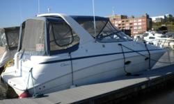 Well maintained 2008 Rinker 280 Express Cruiser with 496 Mag Mercruiser Bravo 3 with Seacore System and 2013 Vantage tri-axle trailer. Engine only has 180 hours. Many upgrades with this boat. A fully functional cockpit, entertainment area and convertible