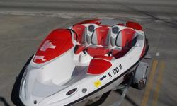 Take this boat out for a relaxing day on the water!!!!!! Who are we trying to kid... This boat is a blast to operate and enables you to spend quality time making memories with family and friends.2008 SEA-DOO SPEEDSTER JET BOAT powered by a ROTAX