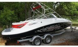 2008 Sea Doo 230 WAKE, This 230 Wake has the upgraded 430-hp Twin Rotax 4-TEC Supercharged engines. 53 Gallon Fuel Tank.Onboard there is room for 12 people or up to 2000 lbs of people and gear. Closed loop cooling system!! (Antifreeze for cooling