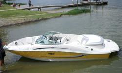 This boat is a BANK REPO and is being sol in an ABSOLUTE AUCTION!! The boat is in good running condition and is ready for a new owner! It only has 90.6 hours on it! The boat also includes a matching trailer. The trailer is a Profile 2000.This would make a