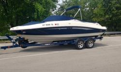 **ONLY 76 HOURS**2008 Sea Ray 210 Select kept indoors, never left overnight in water. Very clean, well maintained. Tons of storage. Kneeboard and tow rope included. Anchor included. Four boat (dock) fenders included.? MerCruiser 5.0 MPI Alpha (260 HP)?