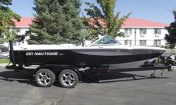 If you want an ordinary wake, buy an ordinary ski boat. But if you want the softest, most crossable wake, plus an open bow, walk-thru design and plenty of storage, this is your ski boat?the Ski Nautique 206. Gather your family, call your friends.The Ski