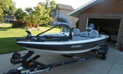 2008 Stratos 176xt - Cabelas - Like New18 ft - 7ft beam - Yamaha 70hp - Fresh tune upMinnkota Edge 40 lb electric trolling motorlowrance electronics, Large live well and tons of storage,Swing hitch on trailer, spare tire, steps, not a chip....less than