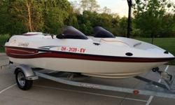 2008 Sugar Sand Tango Super SportManufacturer: Sugar Sand was a small jet boat manufacturer based in N. Dakota utilizing hand laid fiberglass hulls and Mercury power trains. They are like s SeaDoo only better built and more reliable. If you're looking at