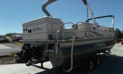 OPTIONS:Year : 2008Make : Sun TrackerModel : Regency EditionType : Tritoon PontoonLength (feet) : 28.0Hull Material : AluminumTrailer : IncludedUse : Fresh WaterEngine Type : Single Inboard/OutboardEngine Make : Mercury EngineEngine Model : 4.3 liter