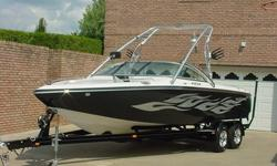 2008 SKI SUPREME V232 SKY SKI/WAKEBOARD BOAT W/ MATCHING SPORT TRAILER BRAND NEW BOAT 1.7 HRS.....340 H.P. MERCURY MX6.2 BLACK SCORPION ENGINE WITH V-DRIVEYou are looking at a brand new 2008 SKI SUPREME V232 SKY SKI/WAKEBOARD . This boat has the largest