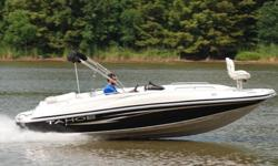 l: 4.3 MPI 220HP Alpha 1 Beam (feet): 8.6Primary Fuel Type: Gas Hull Material: FiberglassSUPER MINT 2008 Tahoe 215 Fish Deck edition deck boat. This one owner boat is in excellent condition and shows to have been hardly used. Boat has always been stored
