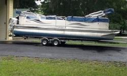 Space maybe the last frontier but there is more to space than twinkling stars. How about the luxury of space and the room to move about in comfort, say on a pontoon boat? That?s part of the appeal of the 2005 Tahoe Grand Elite 27, where space, amenities