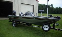 2008 Bass Tracker, Pro Crappie 175, 30th Anniversary Edition ..........25 H.P. Mercury 4 Stroke .....Very Little Use.....Comes with Big Jon Mast and Planer Boards.....Fish Finder.....Spare Tire.....Trolling Motor.....Full Cover.....F & R Lights.....Fire
