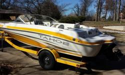 This is the ski and fish model so it has the live well and socket to plug in a trolling motor. There is lots of storage and room for seven people. It has been garage kept the entire time I have owned it. It also has the inboard fuel injected 4.3 Liter V6.