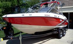 2008 Yamaha AR 210 Well Taken care of Used 2008 Yamaha AR210. This boat is always on a shore station in the summer covered and stored indoors all winter. The trailer is also stored indoors. I have had oil changed with Mobil 1 synthetic oil every year and