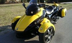 electronic shift) with loads of accessories. Factory hard bags, factory performance silencer by Hindle, comfort seat, back rest, trunk liner, mid rise windshield and billet ad on's everywhere. In like new condition and ready to ride.electronic shift) with