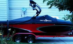 2009 Centurion Avalanche C4 w/Trailer Spotless, runs great, 22 ft, scorpion 330hp inboard engine Great for wakeboarding and surfing!! Props rotate opposite of most which is perfect or goofy footed boarders...wake is cleaner on their side but just fine on