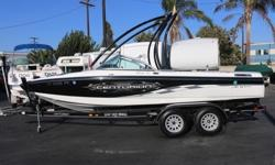 ,,,,,,,,,..2009 Centurion Elite C4 Air Warrior ! *** Extremely Low Hours (29.9 hours) *** CLEAN AND CLEAR TITLE!Nice clean boat, has been inspected and tested, Ready for Fun!! Mercruiser Black Scorpion 330 EngineV DriveLength- 22ftBeam-7.9ftTrailer
