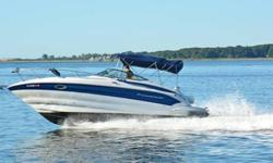 Asking $59,900 for BOAT, dinghy and new Yamaha 6HP motor, needs NOTHING! Has every conceivable option you could want for comfort and convenience. If you've never driven or ridden in a Crownline cruiser, then you will be blown away by its quality build and