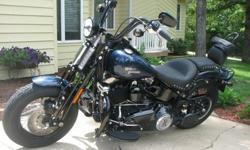 Comes with detachable saddle bags and detachable windshield, I put on the Vance & Hines exhaust and Power Commander with new Mustang seat. I also had the Primary Cover painted black. I have the original seat and exhaust. Tires are in great condition. Has