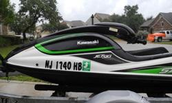 This 2009 Kawasaki 800 SXR is as new. You'll absolutely not find another ski in this condition. As I thought I would keep the ski, the entire hull was sanded and gel-coated to remove common blemishes found on all ski's.In stead of a massive list of after