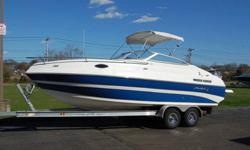 2009 Mariah SC 23Condition: UsedVehicle Title: ClearTrailer: Included For Sale By: DealerEngine Type: Single Inboard/Outboard Year: 2009Engine Make: Mercury Make: MariahEngine Model: 5.0L TKS Model: SC 23Engine HP: 220 Type: Cuddy CabinEngine Hours: 52
