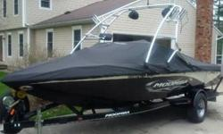 Boat is a 2009 with only 178 hrs on it! great condition! all service has been done by a Certified Moomba dealer. Boat has a 325hp V8 engine that is very quick and responsive. Another very nice feature when pulling a skier is the Moomba Cruise Control!