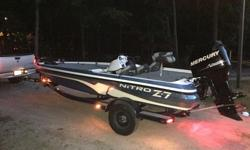 Less than ten trips a year (assume less than 100 hrs). Short runs. Wiped down after every trip. Always covered while stored. Serviced annually. Impeller changed this year and every other year prior to that.. Trolling motor included, motor guide 70lb