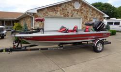 "2009 RANGER 177 TR BASS BOAT24 HOURS RUN TIMELIKE NEW CONDITION 40TH ANNIVERSARY EDITION17'7"" length, 82"" beamFIBERGLASS CONSTRUCTION 2 PEDESTAL SEAT POSITIONS WITH 2 PEDESTAL SEATS15 GAL STERN LIVE WELL AND 20 GAL BOW LIVE WELL24 GALLON BUILT IN FUEL"