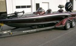 """Here is the list:2009 Ranger Z-202009 Ranger Trail Trailer2009 Mercury 225 Opti Max XS25"""" Tempest' PropHumminbird 797 Color Gps with Sidescan in consoleHumminbird 787 Color GPS in bow10"""" JackplateHamby`s Protector4 Bank Ranger Charger4 Pro Guide"""
