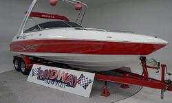 Another fantastic Reinell 242SS!! We love the Reinell 242 SS! This boat is perfectly balanced! Goes to plane in under 3 seconds with a top speed of 50 mph. We have sold a lot of these 242's and we never have a disappointed customer! This is a 1 owner boat