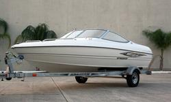 This 2009 Stingray is a Brand New Boat directly from the manufacturer. The warranty has no begun yet.You will see that this is a factory direct boat, never been started, never been used, never been titled, never been owned. There is absolutely nothing