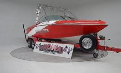 """Super, super clean V-Drive surf/wake boat!! Only 198 hours. We have serviced this boat since it was new. All the options you would expect for a professional Surf/Wake boat. Comes with warranty. Ask about our """"No Risk"""" FREE delivery.We have the largest"""